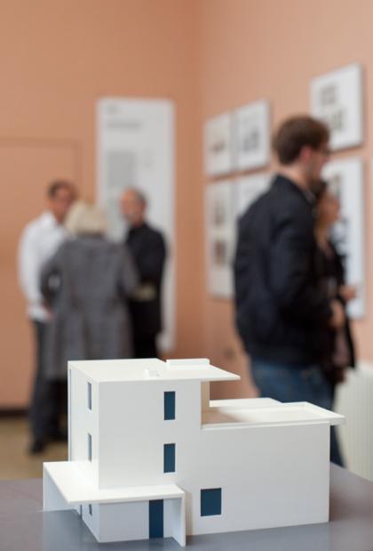 Architektur.Ausstellungen am frühen Bauhaus